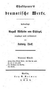Shakespeare's dramatische Werke: Band 4