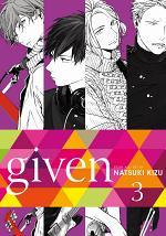 Given, Vol. 3 (Yaoi Manga)