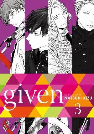 Given  Vol  3  Yaoi Manga