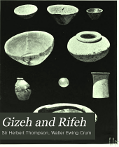 Gizeh and Rifeh: Volume 13