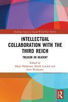 Intellectual Collaboration with the Third Reich PDF