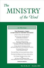 The Ministry of the Word, Vol. 23, No. 10