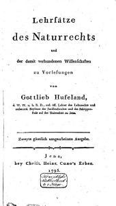 Lehrsätze des Naturrechts und der damit verbundenen Wissenschaften zur Vorlesungen: Band 2