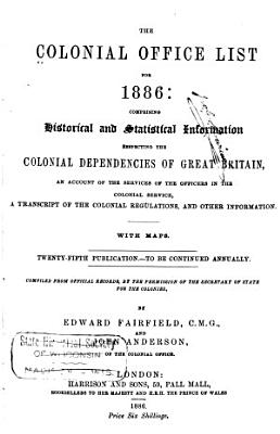 The Colonial Office List for     PDF