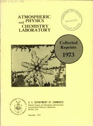 Collected Reprints   Atmospheric Physics and Chemistry Laboratory PDF