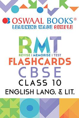 Oswaal CBSE RMT Flashcards Class 10 English  For 2021 Exam  PDF