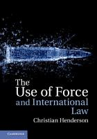 The Use of Force and International Law PDF