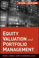 Equity Valuation and Portfolio Management PDF