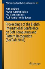 Proceedings of the Eighth International Conference on Soft Computing and Pattern Recognition (SoCPaR 2016)