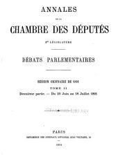 Annales: Débats parlementaires, Volume34,Numéro2