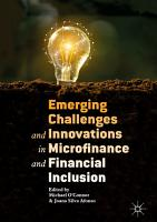 Emerging Challenges and Innovations in Microfinance and Financial Inclusion PDF