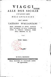 Viaggi alle Due Sicilie e in alcune parti dell'Appennino, dell'abbate Lazzaro Spallanzani