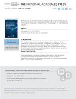 Enhancing Scientific Reproducibility in Biomedical Research Through Transparent Reporting