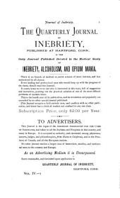 Quarterly Journal of Inebriety: Volume 4, Issue 1