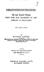 Chrononhotonthologos ... First American from the sixth London edition, etc