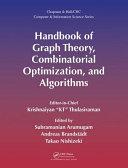Handbook of Graph Theory  Combinatorial Optimization  and Algorithms PDF