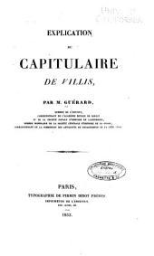 Explication du capitulaire de villis: Volume68