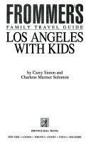 Los Angeles with Kids PDF