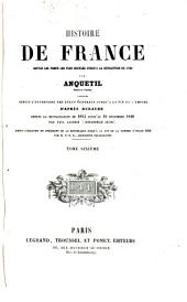 Histoire de France depuis les temps les plus reculés jusqu'à la révolution de 1789,.