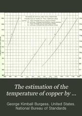 The estimation of the temperature of copper by optical pyrometers