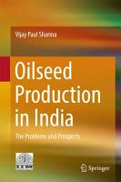 Oilseed Production in India PDF