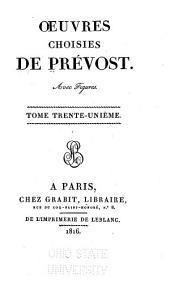 Œuvres choisies de Prévost avec figures: Mémoires d'un honnête homme