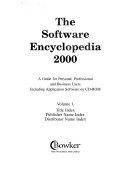 The Software Encyclopedia 2000 PDF