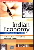 Indian Economy Performance And Policies  For Du B Com  Hons Course  PDF