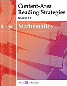 Content Area Reading Strategies for Mathematics PDF