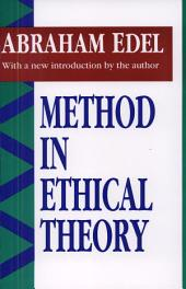 Method in Ethical Theory