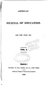 American Journal of Education: Volume 1