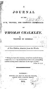 A journal of the life, travels, and Christian experiences of Thomas Chalkley