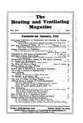 The Heating and Ventilating Magazine: Volume 16
