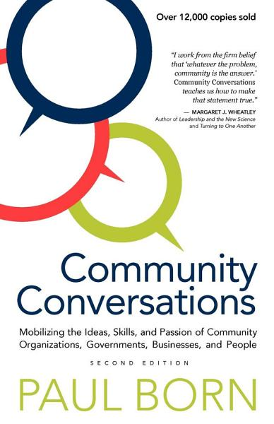 Download Community Conversations Book