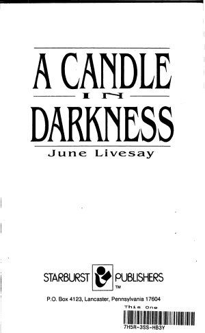 A Candle in Darkness