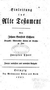 Einleitung ins Alte Testament: Band 2