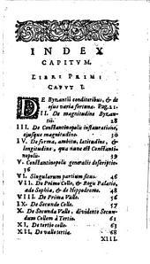 Petri Gyllii ... de Constantinopoleos topographia constantinopoleos ... lib. IV