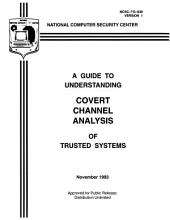 A Guide to Understanding Covert Channel Analysis of Trusted Systems