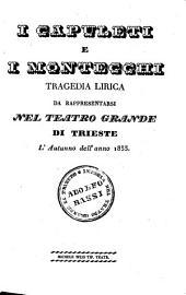I Capuleti e i Montecchi: Tragedia lirica