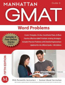 Word Problems GMAT Strategy Guide  5th Edition PDF