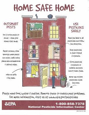 Home Safe Home   Outsmart Pests  Use Pesticides Safely