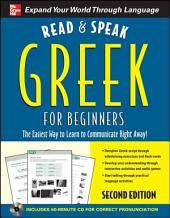 Read and Speak Greek for Beginners, 2nd Edition: Edition 2