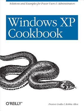 Windows XP Cookbook PDF