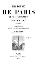 Histoire de Paris et de ses monuments: Volumes1à2