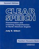 Clear Speech Teacher s resource book PDF