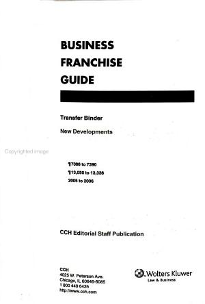 Business Franchise Guide