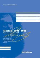 Einstein, 1905-2005: Poincaré Seminar 2005