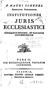 Institutiones juris ecclesiastici: Volume 2