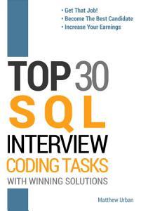 TOP 30 SQL Interview Coding Tasks PDF