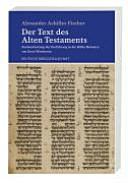 Der Text des Alten Testaments PDF